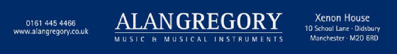 Alan Gregory Music & Musical Instruments